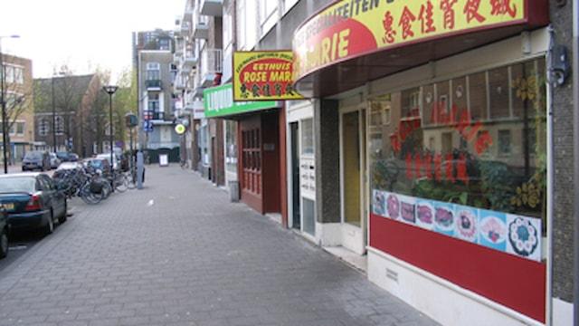 Rechterhoek straat