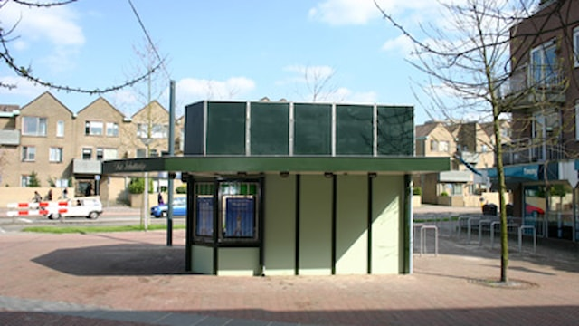 Zijkant Kiosk
