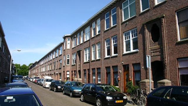 Den Haag Usselincxstraat rechterhoek voorkant