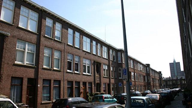 Den Haag Usselincxstraat linkerhoek voorkant