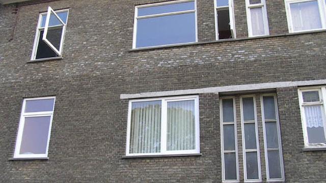 Voorkant appartement Laakkade