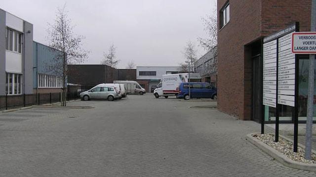 Ingang bedrijvencentrum Koningsweg