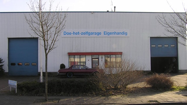Voorkant bedrijfspand Leeuwarden