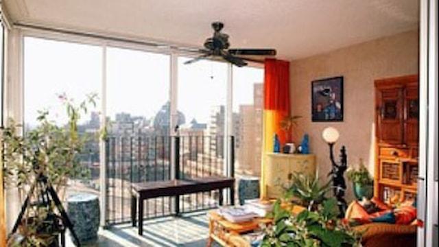 Woonkamer / balkon