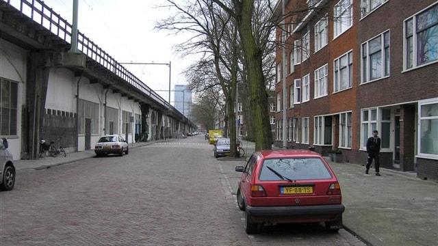 straatbeeld richting centrum