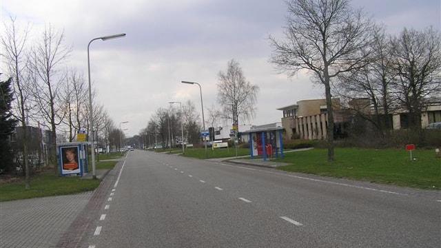 Straatbeeld vanaf Twekkeler Es