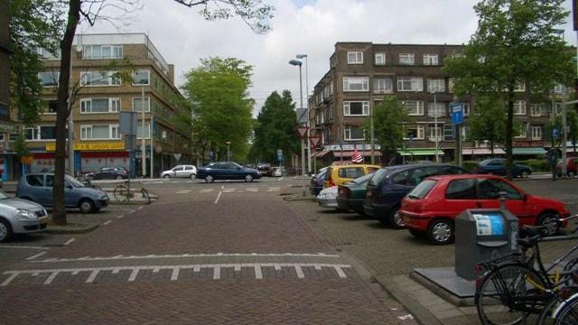 Straatbeeld richting Stadhoudersweg