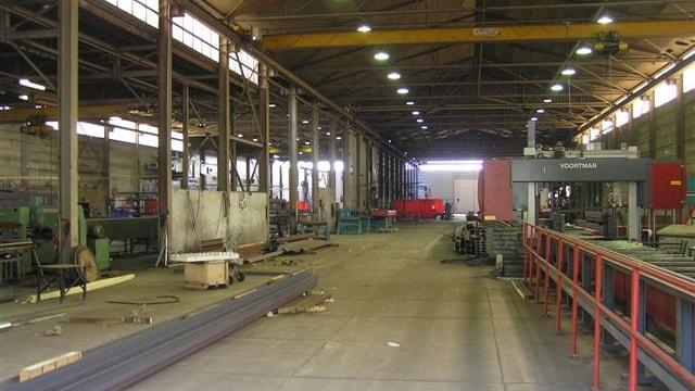 Binnenkant fabriek