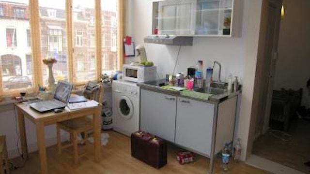 Impressie van een kamer + keuken