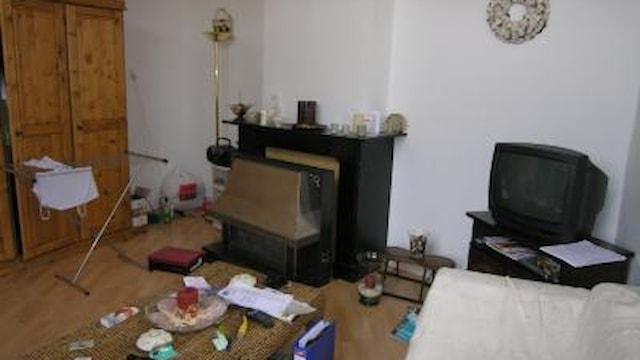 Impressie van een woonkamer