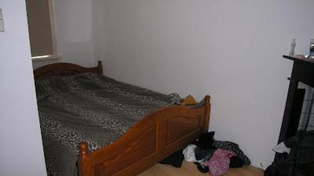 Impressie van een slaapkamer