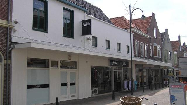 Verhuurde winkel