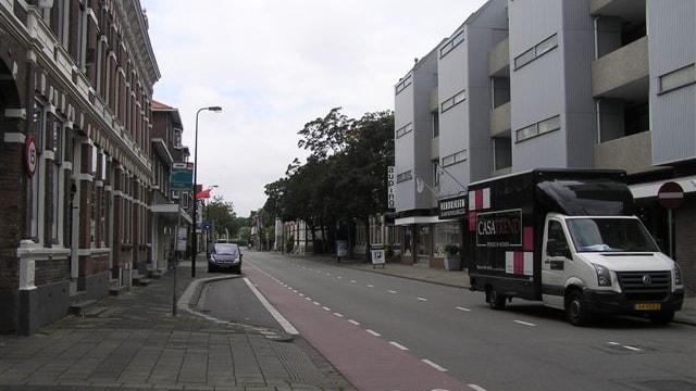 Voorzijde straat