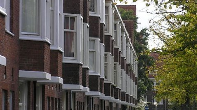 Zijaanzicht Woestduinstraat Amsterdam