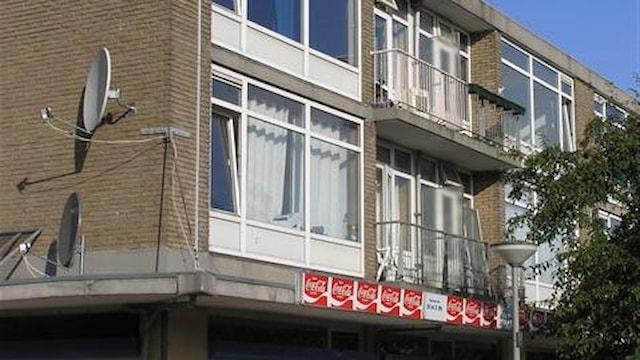 Winkels + appartementen