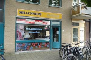 Winkel belegging te Leiden