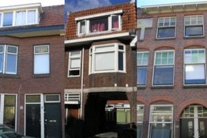 3 studenten panden Leiden