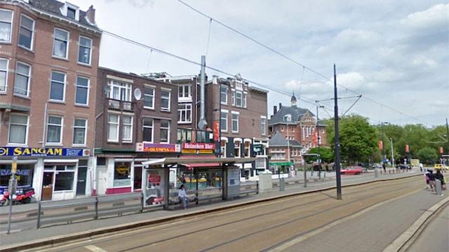 Straatbeeld Vierambachtstraat te Rotterdam
