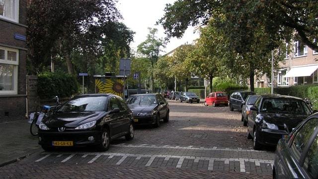 Straatbeeld Nolenstraat.