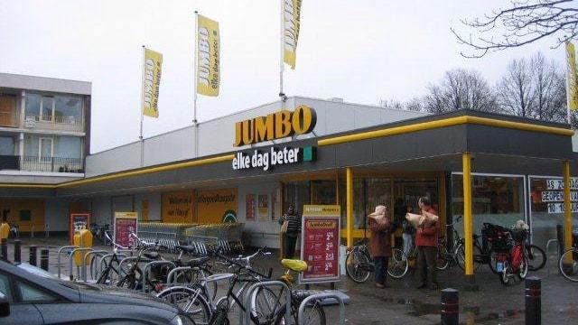 Winkelcentrum te Tilburg.