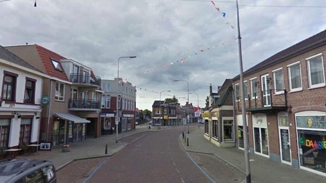 Spoorstraat te Gennep.