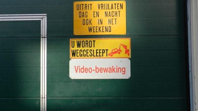 Ingang parkeergarage