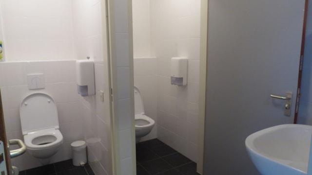 Toiletgroep parterre
