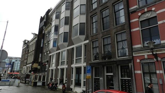 Aanzicht Beleggingspand Amsterdam centrum