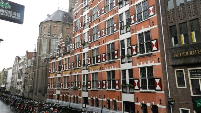 Achterzijde beleggingsobject Amsterdam