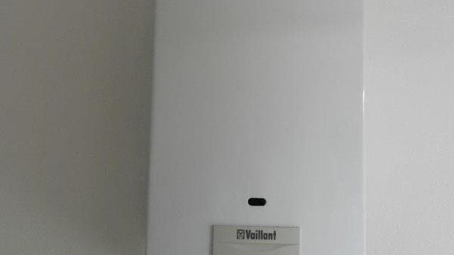Boiler achtergedeelte
