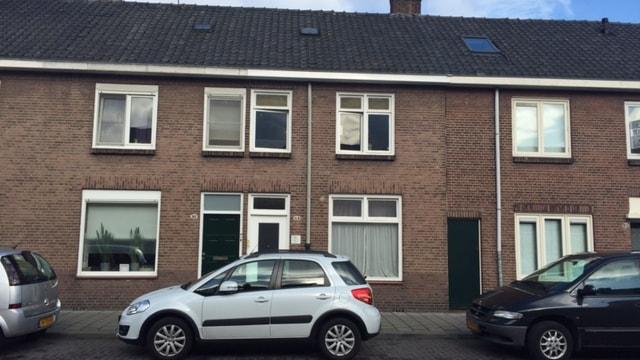 Vooraanzicht beleggingspand Tilburg