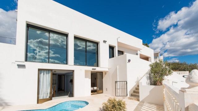 Vrijstaande villa aan de Spaanse kust