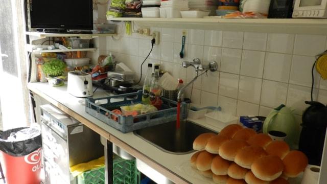 Begane grond - keuken