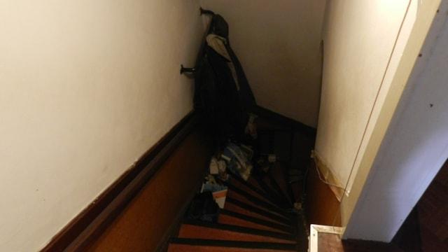 Eerste verdieping - trap