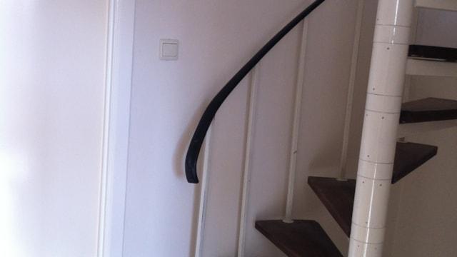 Eerste verdieping - trap naar zolder