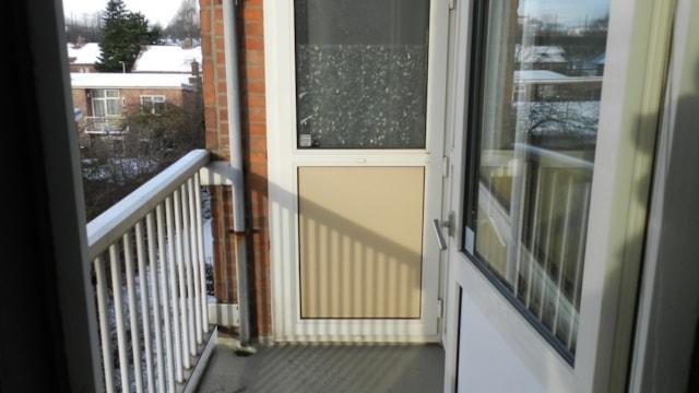 Marie Curielaan 12 - balkon achterzijde