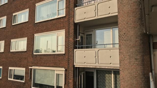 Achterzijde appartement