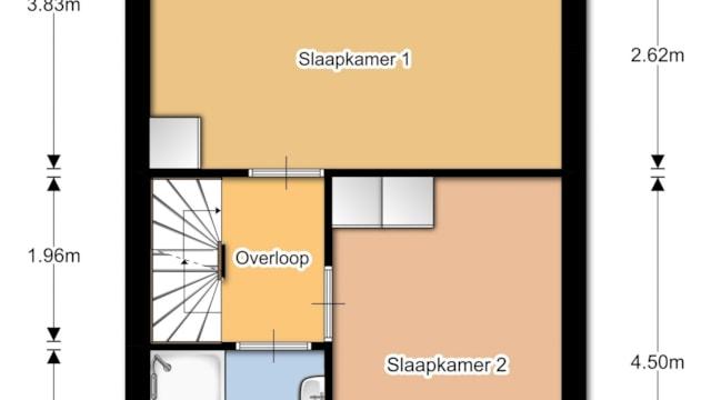 Lingestraat - 1e verdieping