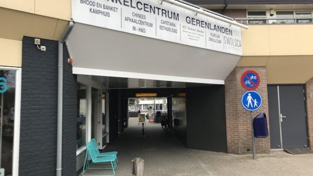 Entree winkelcentrum