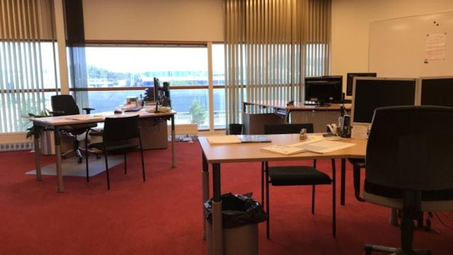 Kantoren 1e etage