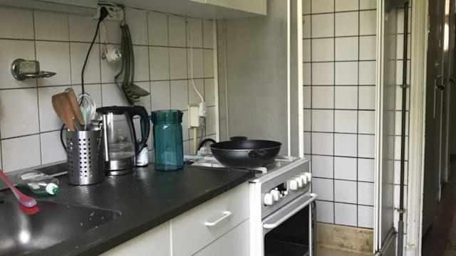 Appartement 68b1 - keuken met douche