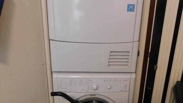 Wasmachine + droger gezamenlijk gebruik
