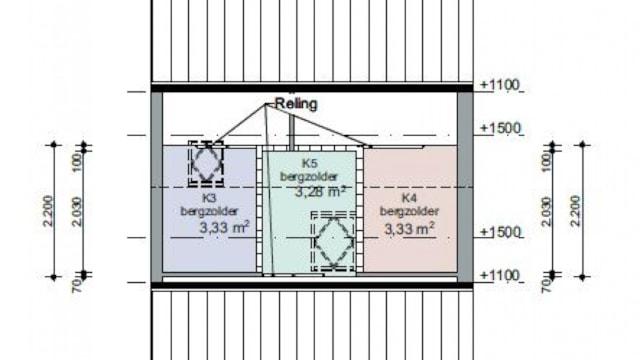 Plattegrond - tweede verdieping